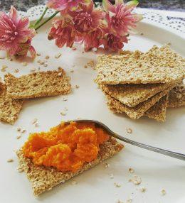 Havermout crackertjes