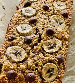 Bananen Havermoutbrood