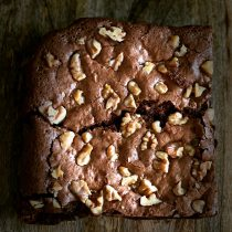 super lekkere brownie