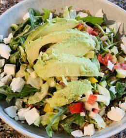 Snelle Quinoa salade