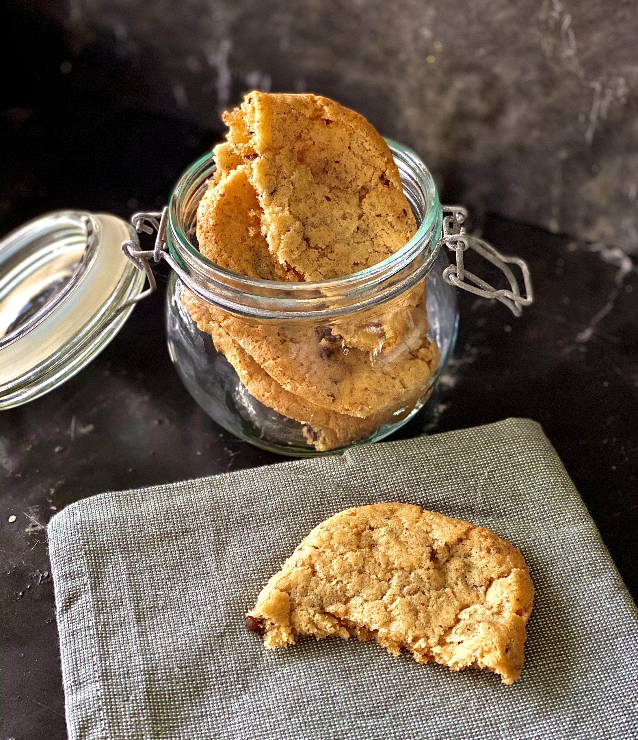 chocoladechip fudge cookies
