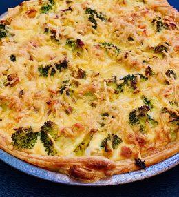 Broccoli bloemkool Quiche