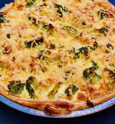 bloemkool broccoli quiche