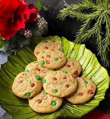 M&M Kerst Koekjes